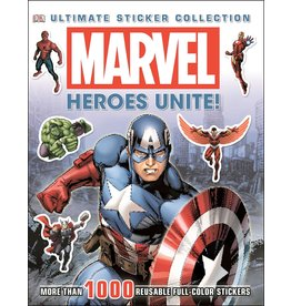 DK PUBLISHING MARVEL HEROES UNITE ULTIMATE STICKER COLLECTION DK