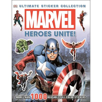 DK PUBLISHING MARVEL HEROES UNITE ULTIMATE STICKER COLLECTION DK