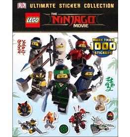 DK PUBLISHING LEGO NINJAGO MOVIE ULTIMATE STICKER BOOK