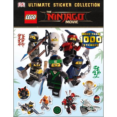 DK PUBLISHING LEGO NINJAGO MOVIE ULTIMATE STICKER BOOK