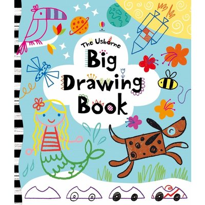 EDC PUBLISHING USBORNE BIG DRAWING BOOK