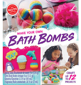 KLUTZ MAKE YOUR OWN BATH BOMBS KLUTZ