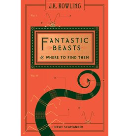 SCHOLASTIC FANTASTIC BEASTS AND WHERE TO FIND THEM  HB SCAMANDER
