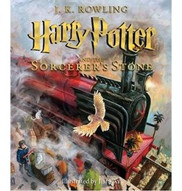 SCHOLASTIC HARRY POTTER AND THE SORCERER'S STONE ILLUSTRATED HB ROWLING