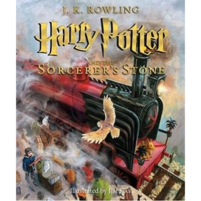 SCHOLASTIC HARRY POTTER AND THE SORCERER'S STONE (ILLUSTRATED)