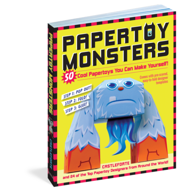 WORKMAN PUBLISHING PAPERTOY MONSTERS