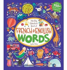 BAREFOOT BOOKS BAREFOOT FRENCH & ENGLISH WORDS HC FATUS