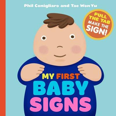 WORKMAN PUBLISHING MY FIRST BABY SIGNS BB CONIGLIARO