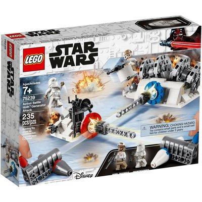 LEGO ACTION BATTLE HOTH GENERATOR ATTACK*