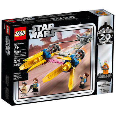 LEGO ANAKIN'S PODRACER 20TH ANNIVERSARY EDITION