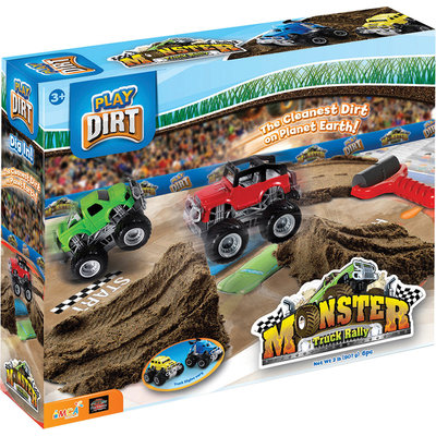 PLAYVISIONS PLAY DIRT MONSTER TRUCK RALLY