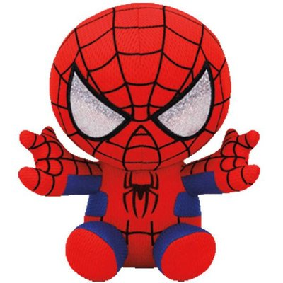 TY SPIDER MAN AVENGERS BEANIE BABY
