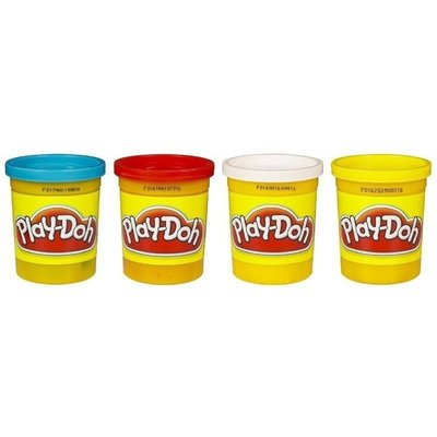 PLAY DOH PLAY DOH CLASSIC COLORS 4 PACK