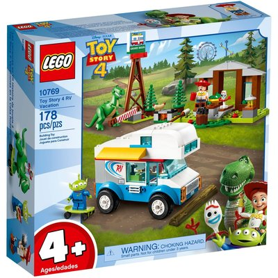 LEGO TOY STORY 4 RV VACATION JUNIORS