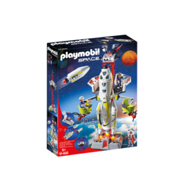 PLAYMOBIL SPACE MISSION ROCKET WITH LAUNCH SITE PLAYMOBIL