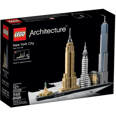LEGO NEW YORK CITY ARCHITECTURE