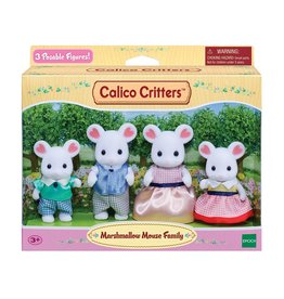 MARSHMALLOW MOUSE FAMILY CALICO CRITTERS