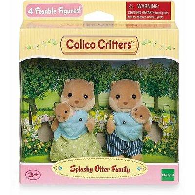 SPLASHY OTTER FAMILY CALICO CRITTERS