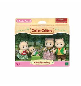 WOOLLY ALPACA FAMILY CALICO CRITTERS*
