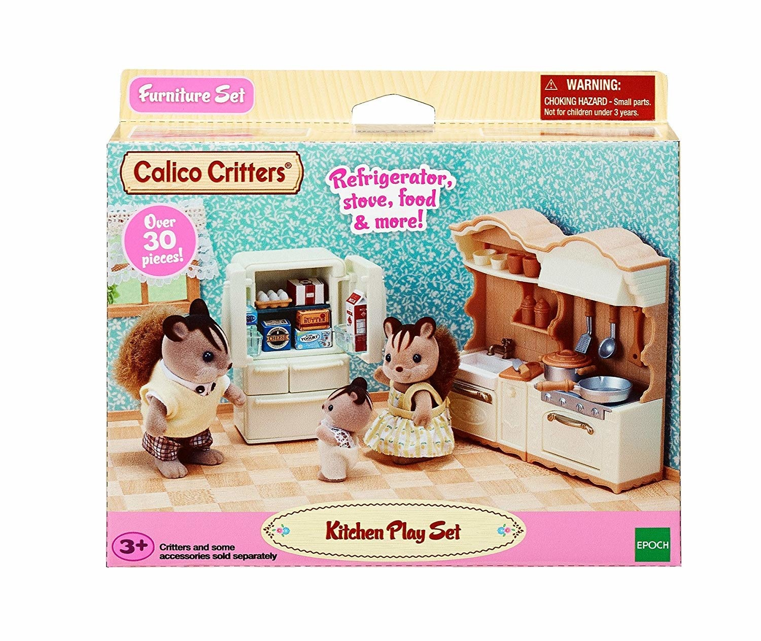KITCHEN PLAY SET CALICO CRITTERS