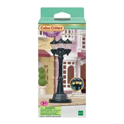 LIGHT UP STREET LAMP CALICO CRITTERS**