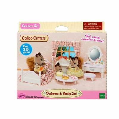 CALICO CRITTERS BEDROOM & VANITY SET CALICO CRITTERS