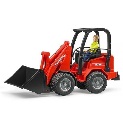 BRUDER TOYS AMERICA COMPACT LOADER & ACCESSORIES