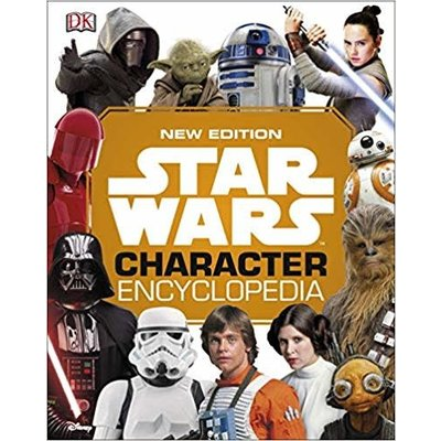DK PUBLISHING STAR WARS CHARACTER ENCYCLOPEDIA UPDATED HB