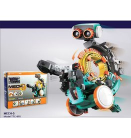 ELENCO ELECTRONICS MECH 5 MECHANICAL CODING ROBOT