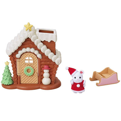 GINGERBREAD PLAYHOUSE CALICO CRITTERS