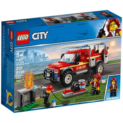 LEGO FIRE CHIEF RESPONSE TRUCK