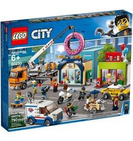 LEGO DONUT SHOP OPENING