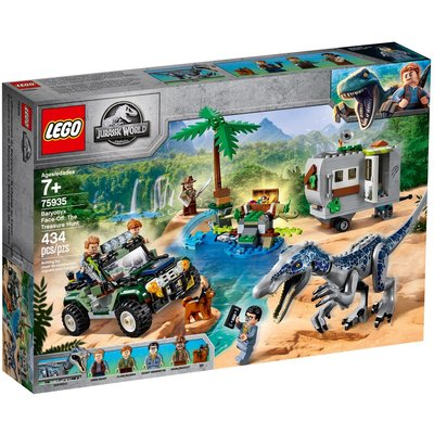 LEGO BARYONYX FACE-OFF: THE TREASURE HUNT