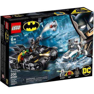 LEGO MR FREEZE BATCYCLE BATTLE