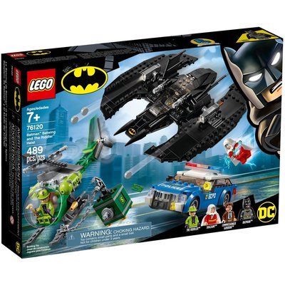LEGO BATMAN BATWING AND THE RIDDLER HEIST