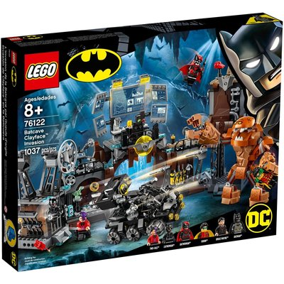 LEGO BATCAVE CLAYFACE INVASION