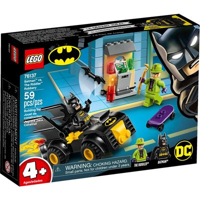 LEGO BATMAN VS THE RIDDLER ROBBERY