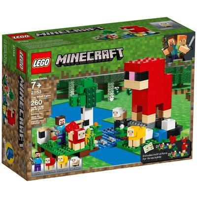 LEGO THE WOOL FARM MINECRAFT
