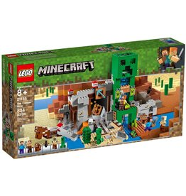 LEGO THE CREEPER MINE MINECRAFT