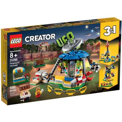 LEGO FAIRGROUND CAROUSEL CREATOR