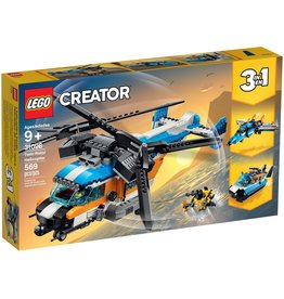 LEGO TWIN ROTOR HELICOPTER CREATOR