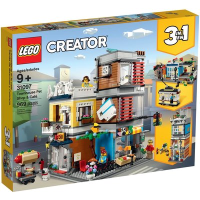 LEGO TOWNHOUSE PET SHOP & CAFE CREATOR