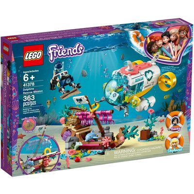 LEGO DOLPHINS RESCUE MISSION