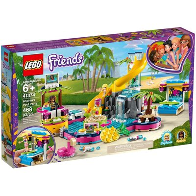 LEGO ANDREA'S POOL PARTY