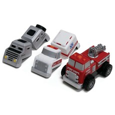 POPULAR PLAYTHINGS MAGNETIC BUILD A TRUCK