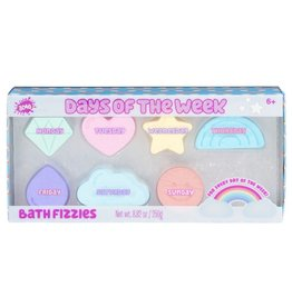 3CFG DAY OF THE WEEK BATH FIZZIES