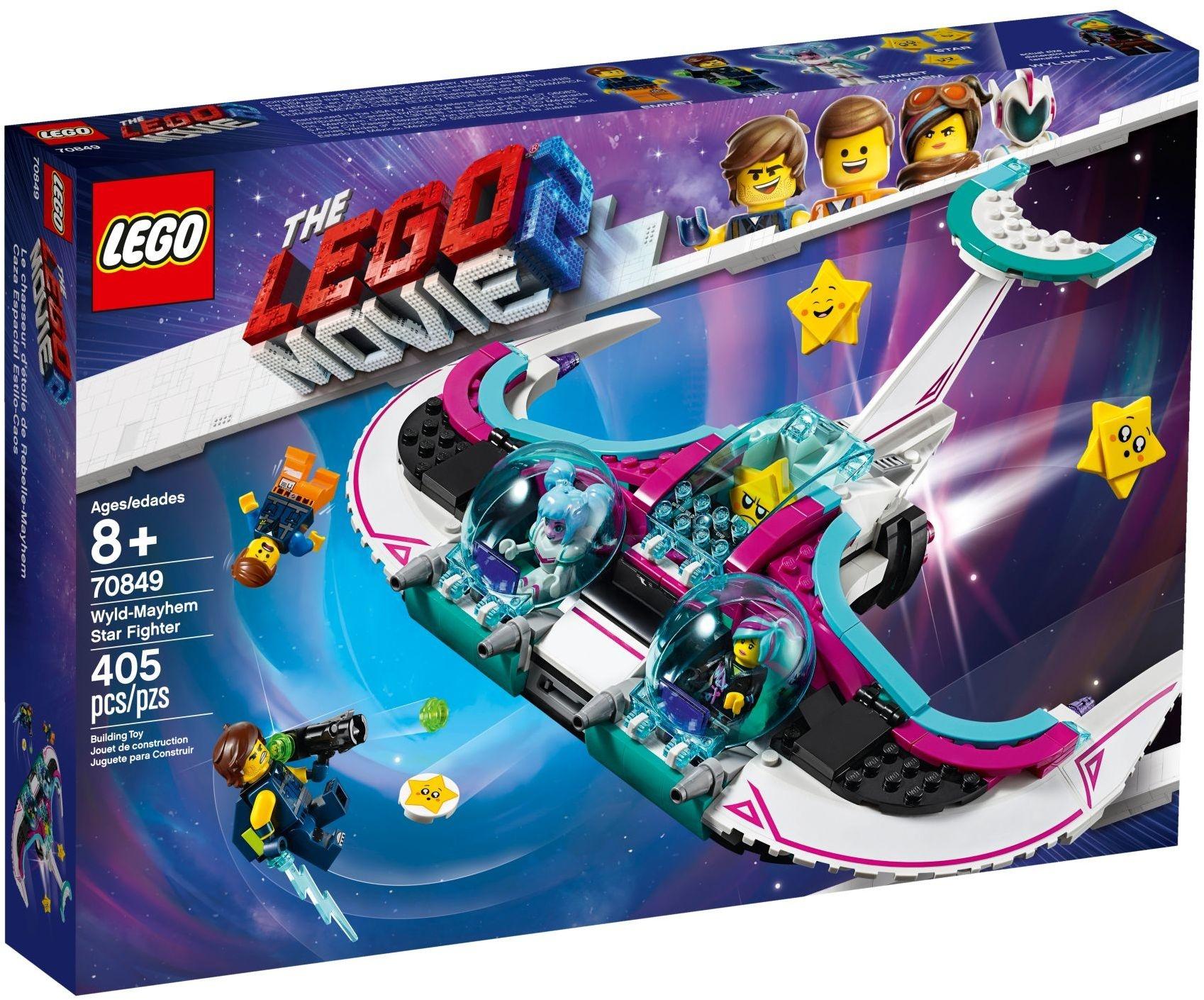Sweet Mayhem/'s Systar Starship LEGO The Movie 2 Minifigure w// Space Blaster