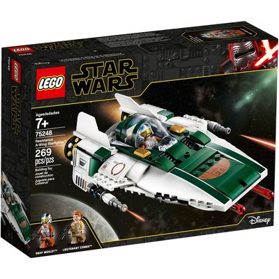 LEGO RESISTANCE A-WING STARFIGHTER