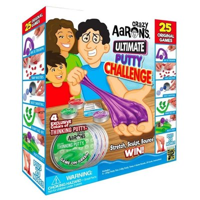 CRAZY AARONS PUTTY CRAZY AARON'S ULTIMATE PUTTY CHALLENGE GAME