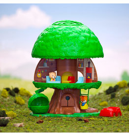 FAT BRAIN TOY TIMBER TOTS TREE HOUSE